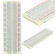 MB-102 MB102 830 Points Breadboard Solderless PCB Protoboard Board Test DIY
