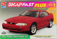 AMT SNAPFAST 1996 FORD MUSTANG GT MODEL KIT 8118