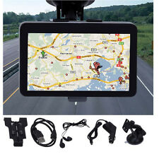 "Hot! 5"" 4GB HD Screen Car GPS Navigation Navigator SAT NAV Free Middle East Maps"