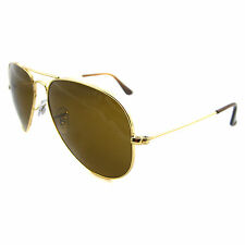Ray-Ban Sunglasses Aviator 3025 001/33 Gold Brown 62mm