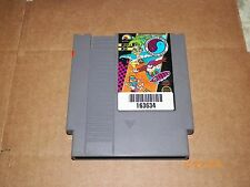 NES 1987 (T&C SURF DESIGNS WOOD & WATER  ) GAME ONLY.. TESTED  FREE U.S SHIPING