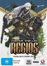 Chrome Shelled Regios Collection 1 DVD NEW