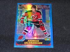 New Jersey Devils Andreas Salomonsson Signed 2001/02 Topps Chrome REF #174 SR