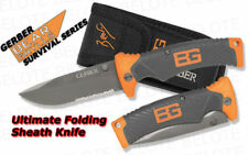 Gerber Bear Grylls Ultimate Folding Sheath Knife Partially Serrated 31-000752