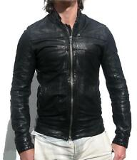 *SUPER RARE* ALL SAINTS ABSOLUTE LEATHER JACKET shirt Collide L RRP £275