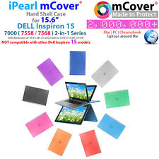 "NEW iPearl mCover Hard Case for 15.6"" Dell Inspiron 15 7558 7568 2-in-1 laptop"