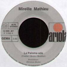"MIREILLE MATHIEU ~ LA PALOMA ADE / MEIN LETZER TANZ ~ 1974 GERMAN 7"" SINGLE"