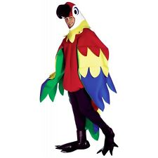 Deluxe Parrot Costume Adult Mascot Halloween Fancy Dress