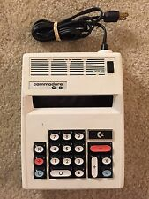 Vintage Commodore C-8 White 8-Digit LED Calculator