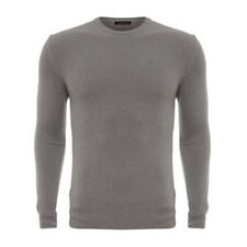 new 100% CASHMERE BALLANTYNE mens luxury Italian GREY JUMPER bnwt £390 szXL 54