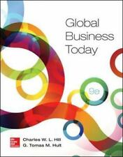 Global Business Today by Charles W.L. Hill Paperback Book (English) 9th Edition