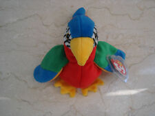 1997 TY Beanie Baby Jabber Parrot Retired NEW w/Tags #041978 - 5/6 Generation