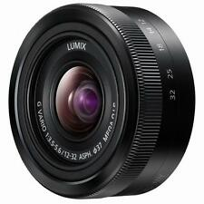 Panasonic Lumix G Vario 12-32mm F/3.5-5.6 Lens (Black) BNIWB