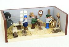 Miniatur Drehwerk Original Handwerkskunst aus dem Erzgebirge