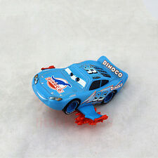 Disney Pixar Cars Metal Car No.95 Blue Dinoco Storm Lightning McQueen Diecast