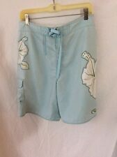 Quicksilver Edition Board Shorts ~ 32 ~ Light Blue