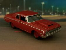 64 1964 DODGE 330 MAX WEDGE 1/64 SCALE MOPAR COLLECTIBILE MODEL - DIORAMA