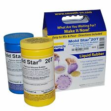 Mold Star 20T Silicone Mold Making Rubber 2lbs Resin Craft Kits Supplies Model