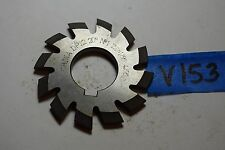 "Used No 1- 12P Involute Gear Cutter HS -20 PA V153.  1"" Arbor Made in China"