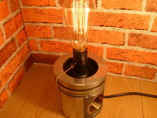 Scania V8. Piston Lamp, Steampunk lamp, Classic Collectable.