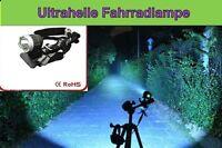 ULTRA HELLE LED Fahrrad Lampe   TOP   Fahrradlicht    Akkulicht   Stirnlampe