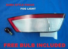 FORD FOCUS MK2 2008-2015 CLEAR REAR BUMPER FOG LIGHT EURO STYLE