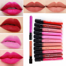 Makeup Lip Pencil Matte Lipstick Super Long Lasting Waterproof Liquid #27