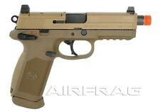Licensed FN Herstal FNX-45 Tactical Airsoft Gas Blowback Pistol - Tan