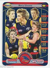 2014 Teamcoach ADVERTISER Quiz (01) Rory SLOANE (Who won the very first...)