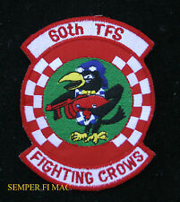 60TH TFS FIGHTING CROWS F15 EAGLE US AIR FORCE Patch OTIS EGLIN AFB F101 F94 F86