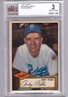 1952 Topps Andy Pafko Black Back BVG 3