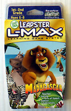 Madagascar ~ NEW SEALED ~ Leapster L-Max Learning Game ~ RARE Leap Frog ~ Movie