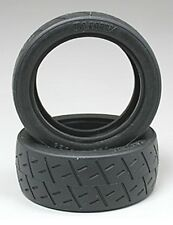 Tamiya 50810 1/10 RC Car Racing Semi-Slick Tires Set (2pcs) Spare Parts SP810