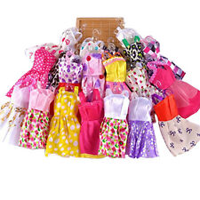 10pcs Princes Party Wedding Dresses Clothes Gown Outfits for Barbie Dolls Gift