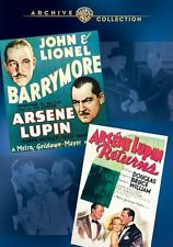 Arsene Lupin Double Feature DVD (1932) John Barrymore Melvyn Douglas Jack Conway