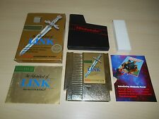 The Adventure Of Link Legend of Zelda II 2 NES Game GOLD Complete CIB Nintendo