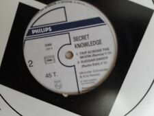 "MAXI 12"" SECRET KNOWLEDGE Sugar daddy 2365 promo"