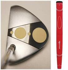 """New Mens 35"""" Right Hand PUTTER STROKE MASTER RED MADE GOLF TAYLOR FIT PUTTERS"""