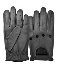 MENS CLASSIC LAMBSKIN LEATHER DRIVING GLOVES  DRESS GLOVES - S M L XL - BLACK