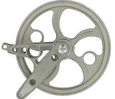 """Strata 90290 Rustproof Metal 6.5"""" Stand Clothesline Pulley with """"V"""" Bracket"""