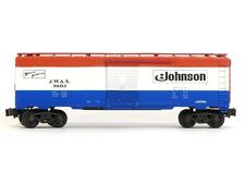 Lionel Model Trains 6-9803 Johnson Wax Box Car Standard O Scale Series Freight