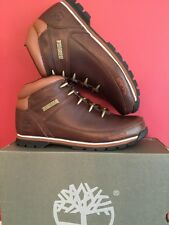 TIMBERLANDS MENS EURO SPRINT Hiker BOOTS BROWN size Uk 10 BRAND NEW WITH BOX