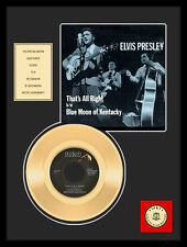 "ELVIS PRESLEY THAT'S ALL RIGHT 7"" GOLDENE SCHALLPLATTE"