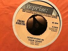 "7"" RARE VINYL - FRANK SINATRA - SOMEWHERE IN YOUR HEART - REPRISE 23028 1964"