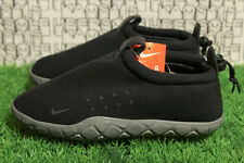 Nike Air Moc Fleece Black/Grey ACG QS Camping Slipper 834591 010 MEN 8,WOMEN 9.5