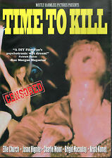 Time To Kill DVD Brian Williams Debbie Rochon Mostly Harmless Grindhouse