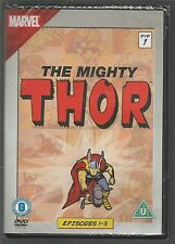 THE MIGHTY THOR Episodes 1-3 UK REGION 2 DVD sealed/new