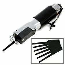 HEAVY DUTY RECIPROCATING AIR BODY CUT OFF SAW + 6 BLADES BODYSHOP CUTTING TOOL