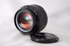 Pentax Lens smc PENTAX-A 1:1.4 50mm **EXC+** #M024b
