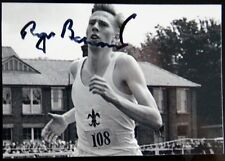 ROGER BANNISTER 4 MINUTE MILE SIGNED PHOTOGRAPH PICTURE PSA DNA GUARANTEE AUTO